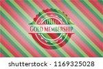 gold membership christmas... | Shutterstock .eps vector #1169325028