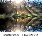 photograph of a sunrise in a... | Shutterstock . vector #1169329915