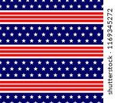 seamless pattern national usa... | Shutterstock .eps vector #1169345272