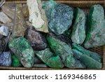 jade and bracelets at market in ...   Shutterstock . vector #1169346865