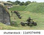artillery gun from the world... | Shutterstock . vector #1169374498
