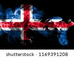 national flag of iceland made... | Shutterstock . vector #1169391208
