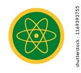 vector illustration of atomic...