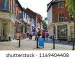 norwich  norfolk in england  ... | Shutterstock . vector #1169404408