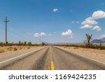 A Long  Straight Road Running...