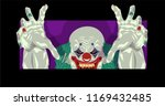 clown halloween costume clown... | Shutterstock .eps vector #1169432485