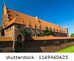 a building of malbork castle in ... | Shutterstock . vector #1169460625