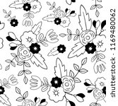 beautiful floral seamless... | Shutterstock .eps vector #1169480062