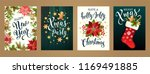 merry christmas and happy new...   Shutterstock .eps vector #1169491885