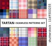 tartan seamless pattern... | Shutterstock .eps vector #1169503255