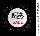 black friday sale banner... | Shutterstock .eps vector #1169506282