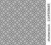 grey seamless pattern. fabric... | Shutterstock . vector #1169508685