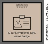 id card  employee card  name...