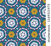 seamless pattern  traditional...   Shutterstock .eps vector #1169521975