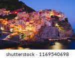 cinque terre in liguria  italy | Shutterstock . vector #1169540698