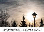 early morning sky with... | Shutterstock . vector #1169554642