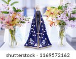 statue of the image of our lady ... | Shutterstock . vector #1169572162
