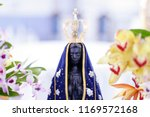 statue of the image of our lady ... | Shutterstock . vector #1169572168