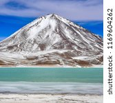 view of laguna verde and the... | Shutterstock . vector #1169604262