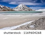 view of laguna verde and the... | Shutterstock . vector #1169604268