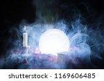 fortune teller crystal ball... | Shutterstock . vector #1169606485
