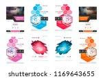 abstract vector business... | Shutterstock .eps vector #1169643655