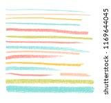 vector bright pastel design... | Shutterstock .eps vector #1169644045