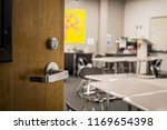 entrance to a classroom   Shutterstock . vector #1169654398