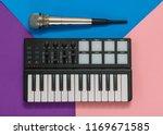 musical mini mixer and... | Shutterstock . vector #1169671585