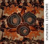 hold rose flower. rose texture... | Shutterstock .eps vector #1169676445