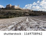 view of assisi town  umbria  in ... | Shutterstock . vector #1169708962