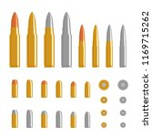 bullet flat design set ...   Shutterstock .eps vector #1169715262