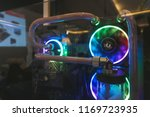 close up cpu design in computer | Shutterstock . vector #1169723935