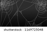 spider web isolated on... | Shutterstock .eps vector #1169725048