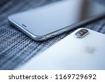kiev 30 august 2018  iphone xs... | Shutterstock . vector #1169729692