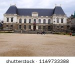 the parliament of brittany in... | Shutterstock . vector #1169733388