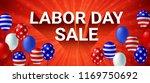 labor day sale poster flyer... | Shutterstock .eps vector #1169750692