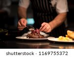 chef kitchen dining food | Shutterstock . vector #1169755372