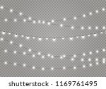 christmas lights isolated... | Shutterstock .eps vector #1169761495