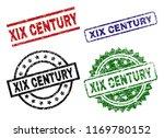 xix century seal prints with... | Shutterstock .eps vector #1169780152