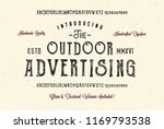 the outdoor advertising.... | Shutterstock .eps vector #1169793538