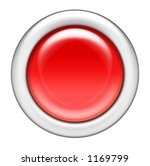red glossy button | Shutterstock . vector #1169799
