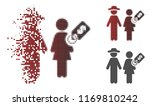 marriage of convenience icon in ... | Shutterstock .eps vector #1169810242