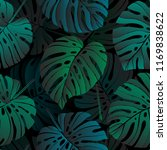 vector seamless pattern with... | Shutterstock .eps vector #1169838622
