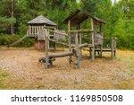 adventure playground for... | Shutterstock . vector #1169850508