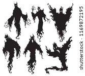evil spirit silhouette.... | Shutterstock .eps vector #1169872195