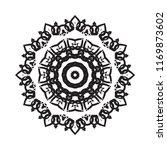 beautiful vector circular... | Shutterstock .eps vector #1169873602