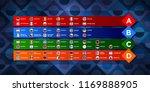 european nations football.... | Shutterstock .eps vector #1169888905
