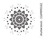 beautiful vector circular...   Shutterstock .eps vector #1169890162