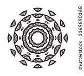 beautiful vector circular...   Shutterstock .eps vector #1169890168